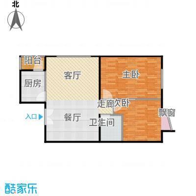 蓝调沙龙雅园81.79㎡02M面积8179m户型