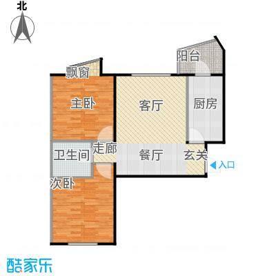 蓝调沙龙雅园79.59㎡02D面积7959m户型