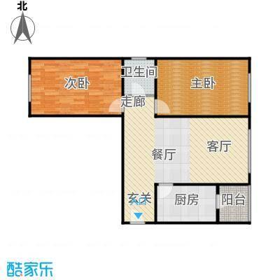 蓝调沙龙雅园93.58㎡S4面积9358m户型