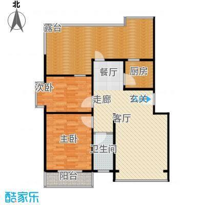 蓝调沙龙雅园94.47㎡C平12面积9447m户型