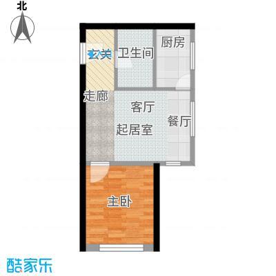 远洋海逸世家公寓A2反偶数层户型
