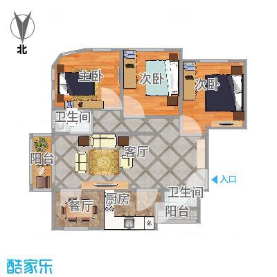 阳城美景3房137平米