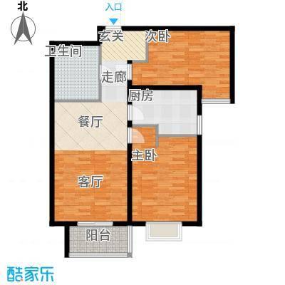 颐景蓝湾7#、8#B_1D户型
