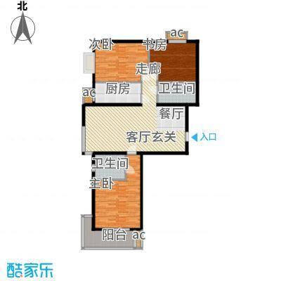 颐景蓝湾1#2#A户型