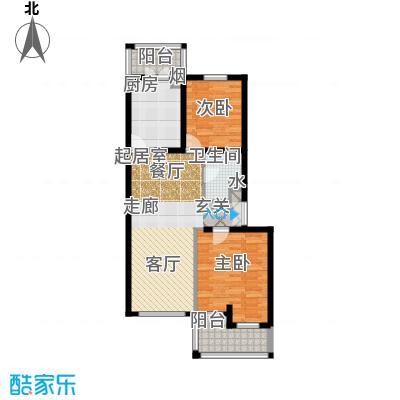 中房水木兰亭96.04㎡C2面积9604m户型