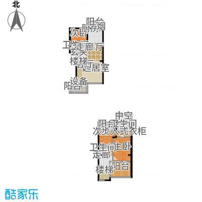 中房水木兰亭168.92㎡H2面积16892m户型