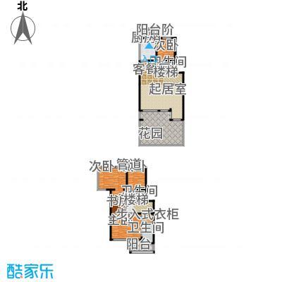 中房水木兰亭176.86㎡A'面积17686m户型