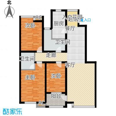 国际新城26#楼B户型