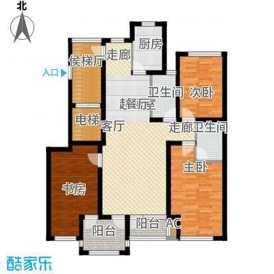 国际新城32#楼C户型