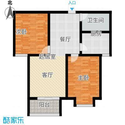 国际新城36#楼B户型
