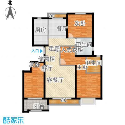 惠腾公寓137.20㎡1372户面积13720m户型