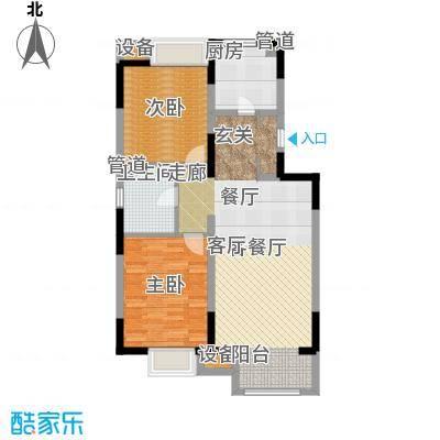 晋中万科朗润园85.00㎡晋中万科・朗润园4号户型
