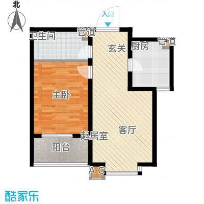 华瑞科技苑66.00㎡华瑞・科技苑c1面积6600m户型