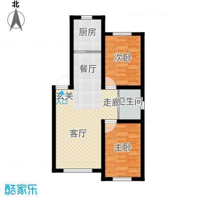 六合龙城国际81.16㎡六合・龙城国际E户型