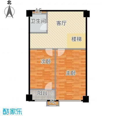 万科中粮紫苑G1南侧-2户户型