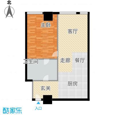 大悦公寓88.00㎡面积8800m户型