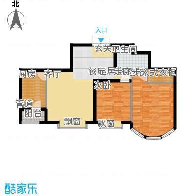 鹿港嘉苑二期5号楼Q1户型