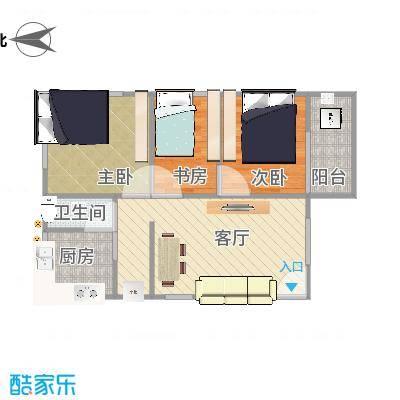 鹭江小区2房1厅