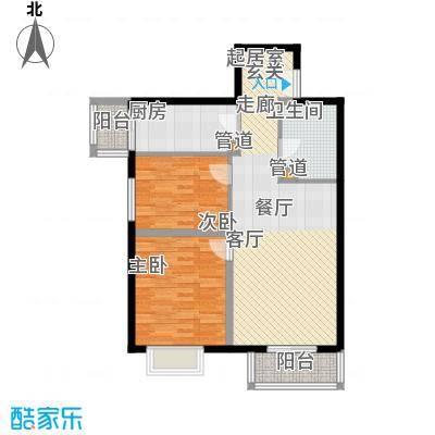 常青藤嘉园83.66㎡浓情1面积8366m户型