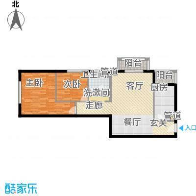常青藤嘉园91.56㎡格调1面积9156m户型