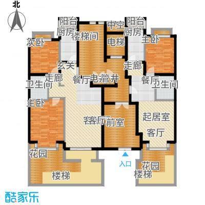 润泽悦溪88.00㎡901#Cc1面积8800m户型