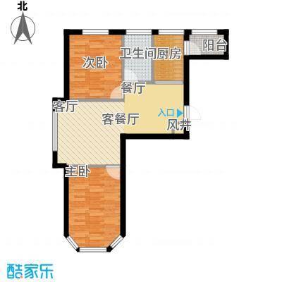 联通格林小镇12号楼8162m²户型