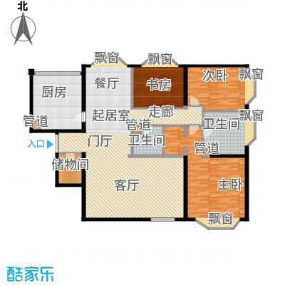 通用时代国际公寓205.00㎡E座e户面积20500m户型