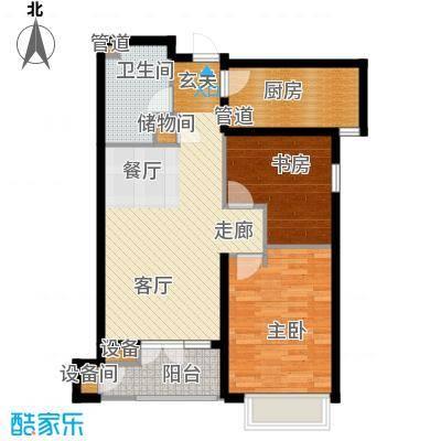 绿城北京诚园90.00㎡N-A3(售面积9000m户型