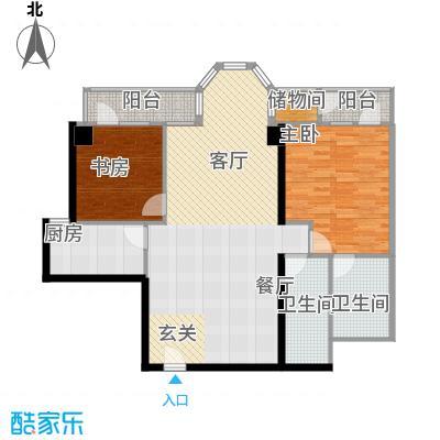 望京合生麒麟社2户型