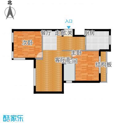 本家润园108.35㎡4#一单元B3面积10835m户型