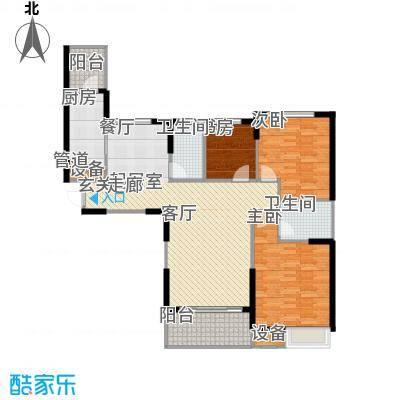 盘锦恒大华府3-4号楼145户型