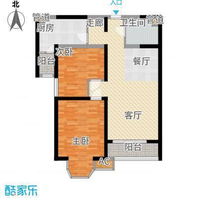 珠江峰景二期8号楼B、C户户型