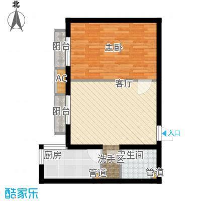 珠江峰景3号楼A户型