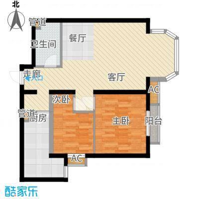 珠江峰景3号楼D户型