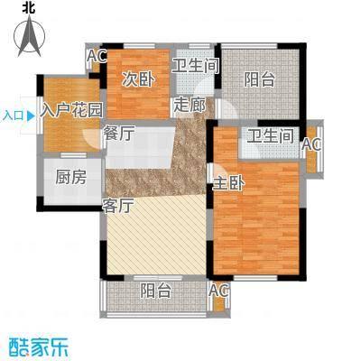 天明城二期7号楼、10号楼高层A户型