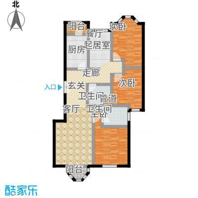 中海城圣朝菲137.00㎡面积13700m户型