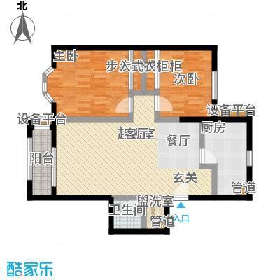 中海城圣朝菲t1-2a正户型