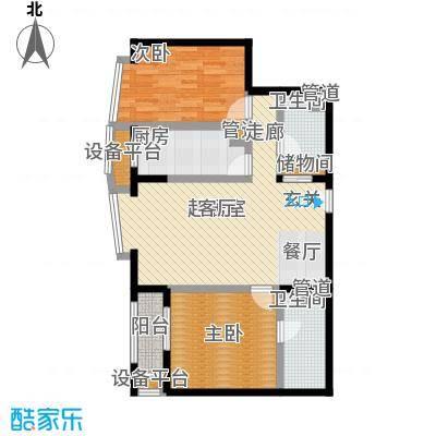 中海城圣朝菲t1-2b正户型