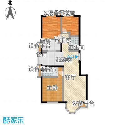 中海城圣朝菲3C正3户型