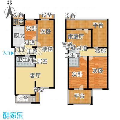 龙锦苑东三区户型