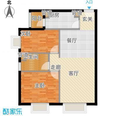 北京城建筑华年92.00㎡北京城建・筑华年1号楼D面积9200m户型
