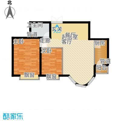 鹿港嘉苑二期7号楼Q3户型