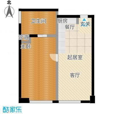 朗豪东港A栋楼6-3户型