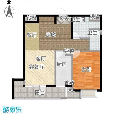 「大连天地」悦丽海湾C01号楼标准层04户型