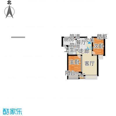 御龙湾1号楼B1户型
