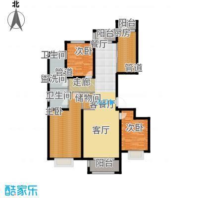 悦澜湾157.89㎡15789户型