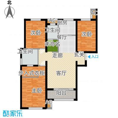 金域蓝湾8#楼D户型