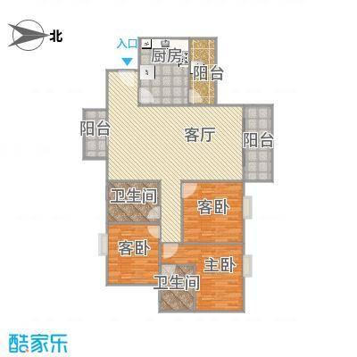 映翠豪庭二期113方3房2卫