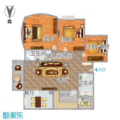 阳城美景3房136