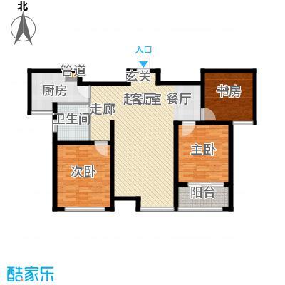 国际新城35#楼B户型